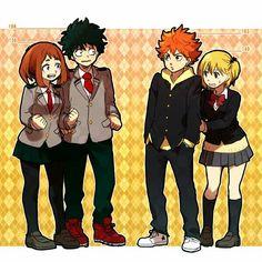 Boku no Hero Academia & Haikyuu!! [Cross-Over]>>> My precious children are meeting!!!!!