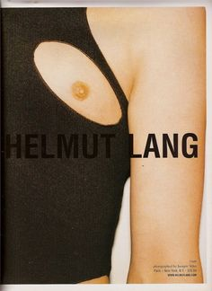 Helmut Lang Campaign, photographed by Juergen Teller, Spring/Summer 2004