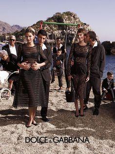 Dolce & Gabbana S/S 2013 Ad Campaign