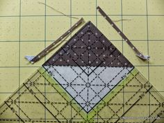 Neighborhood Quilt Club: Starting Point - Quilt Block Tutorial Pinwheel Quilt Pattern, Quilt Patterns, Quilt In A Day, Half Square Triangles, Block Of The Month, Painters Tape, Pinwheels, One Light, Quilt Blocks