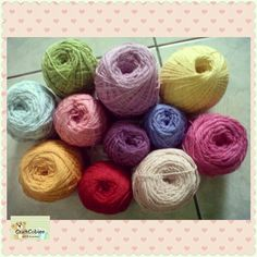 Cotton yarn || Rainbow series