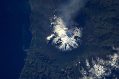 An Active Mount Etna from Space