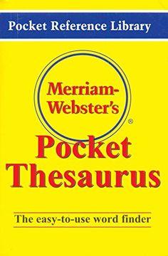 Merriam - Webster's Mini Pocket Thesaurus