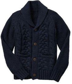 ShopStyle.co.uk: Shawl cable knit cardigan £34.95