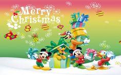 Merry Christmas Disney en HD - Fondos de Pantalla. Imágenes y Fotos espectaculares.