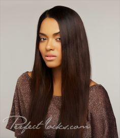 Straight Colored Indian Hair Extensions