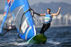 Great Britain's Nick Dempsey brought his Olympic windsurfing career to an end…