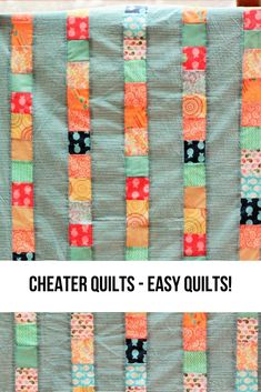 A step by step tutorial on how to make easy quilts. They're called