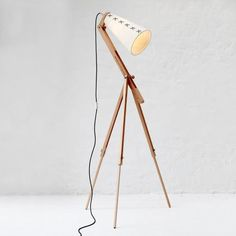Wiid Design Art light – White from Let There Be Lighting - (Save Lamp Design, Design Art, Interior Design, Tripod Lamp, Light Art, Lightning, Fashion Online, Attitude, Fashion Accessories