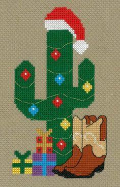 Cowboy Christmas - Cross Stitch Pattern