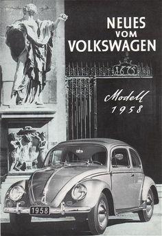 VW - 1958 - Neues vom Volkswagen Modell 1958 - [1617]-1