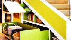 1000 images about rangement sous escalier on pinterest new york style ran - Escalier de rangement ...