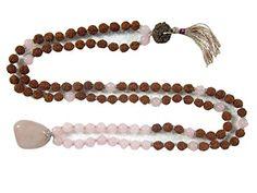 Rose Quartz Rudraksha Full Mala Yoga Meditation Spiritual Enerrgy Mala Beads for Clarity Mogul Interior http://www.amazon.com/dp/B00P275UDI/ref=cm_sw_r_pi_dp_Kuavub1Z4H4NY