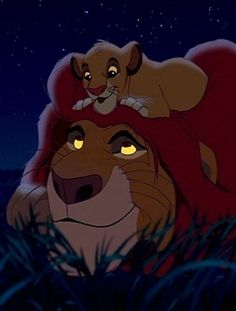 The Lion King...we watched this movie over and over again when you were little