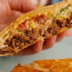 Crunchwrap Supreme 5 minutes · Serves 4 · Trust us, this is every bit as good as the real thing! Recipes by Delish Wrap Recipes, Baby Food Recipes, Beef Recipes, Mexican Food Recipes, Cooking Recipes, Fastfood Recipes, Authentic Mexican Recipes, The Menu, Easy Nachos Recipe Beef