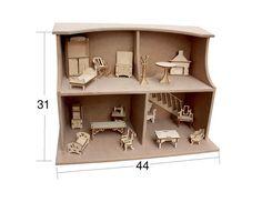 Ana sayfa :: Hobi Yardımcıları :: Ahşap Objeler :: Minyatür Objeler :: Ev Seti Minyatür Ahşap Obje MN-H  125TL