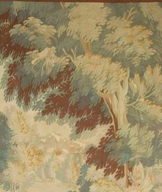19th Century French Verdure Tapestry | From a unique collection of antique and modern western european rugs at https://www.1stdibs.com/furniture/rugs-carpets/western-european-rugs/