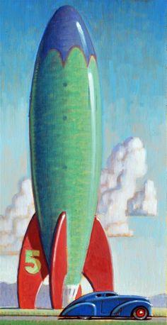 """Travelers"" original fine art by Robert LaDuke"