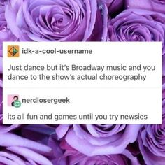 I will dance Crutchies part in Newsies Theatre Jokes, Theatre Nerds, Music Theater, Theater Quotes, Theatre Problems, Broadway Theatre, Broadway Shows, Broadway Playbill, Musicals Broadway