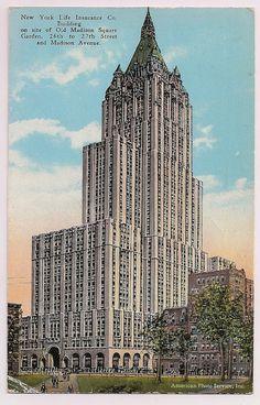 New York Life Insurance Company Building, 1920's NYC