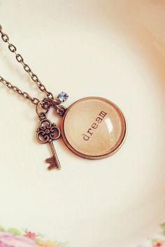 Custom Shabby Chic Dream Necklace