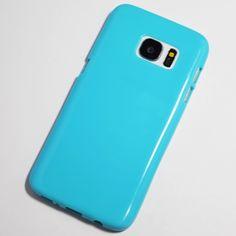 Light Blue Samsung Galaxy S7 Soft Case