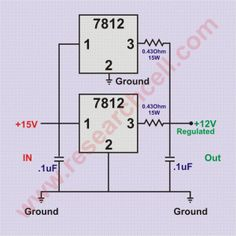 simple white noise generator circuit diagram Electrical