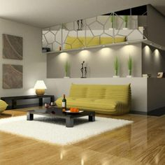 DIY 3D Современные Акриловые Зеркало Наклейки На Стены Настенной Росписи Искусства Наклейки Home Decor Съемный купить на AliExpress