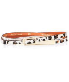 #leopard skinny belt! #pinparty