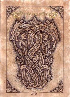 Ash-Harrison - neo celtic dragons