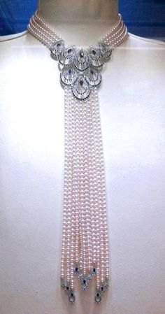 jeffybruce: Things that make say whoa!……………… Mikimoto pearls
