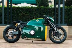 Lotus C-01 Cafe Racer #motorcycles #caferacer #motos | caferacerpasion.com