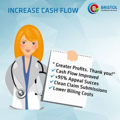 Bristol Healthcare Services helps you to increase your cashflow