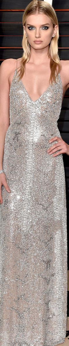 Lily Donaldson 2016 Vanity Fair Oscar Party❤