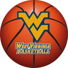 west virginia basketball | West Virginia Mountaineers Basketball Logo Fathead Wall Graphics ...