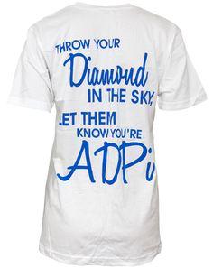 Alpha Delta Pi Diamond V-neck