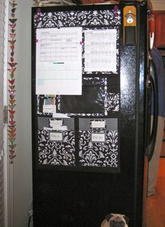 I put up my Thirty-One Hang Up Home Organizer the other day. I LOVE it! I found some cool purple Command Hooks and hung it on the side of my fridge. Now the front of my fridge, which is what fac…