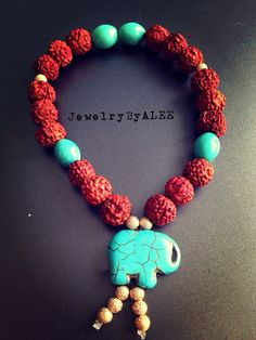Rudraska Mala bracelet  on Etsy, $22.50