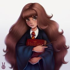 Hermione shared by Thief of books on We Heart It Harry Potter Cartoon, Cute Harry Potter, Harry Potter Artwork, Harry Potter Cake, Harry Potter Shirts, Harry Potter Christmas, Harry Potter Hermione, Harry Potter Wallpaper, Harry Potter Characters