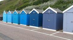 Colours - beach huts Bournemouth