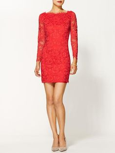 Madison Marcus Elegance Lace Dress - make this emerald green and I'm all set :)