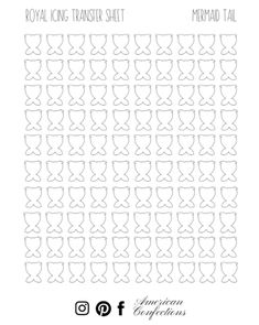 American Confections Piping Templates, Royal Icing Templates, Royal Icing Transfers, Mother's Day Cookies, Cut Out Cookies, Cookies Et Biscuits, Owl Cookies, Macarons, Macaron Template