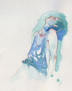 Watercolours and sketches by Adara Sanchez Anguiano