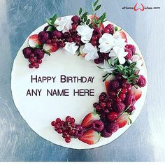 write name on pictures with eNameWishes by stylizing their names and captions by generating text on Happy Birthday Love Cake with Name with ease.