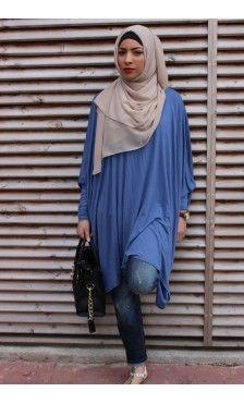 Collection de Longue Tunique - Vêtement fashion pour femme musulmane (4) - Mayssa