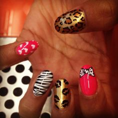 Love on Top: Almond Shaped Nails: WAH style