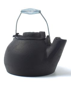 Look what I found on #zulily! 2-Qt. Cast Iron Tea Kettle by Old Mountain #zulilyfinds