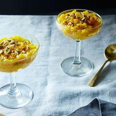 Saffron-Infused Rice Pudding (Sholeh Zard), in the Persian Manner recipe on Food52