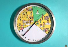 Coups, Clock, Wall, Explorer, Education, Kindergarten Classroom, Classroom Management, Bamboo, Watch