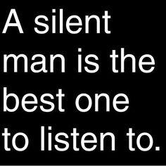 A Silent Man